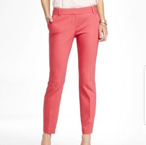 Express Coral/Pink Columist Ankle Pants
